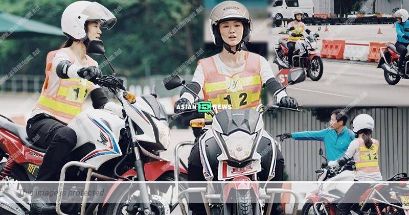 Benjamin Yuen loves motorcycle and influences Bowie Cheung