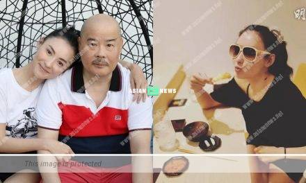 Filial daughter Cecilia Cheung celebrated her father's birthday by taking him out for buffet