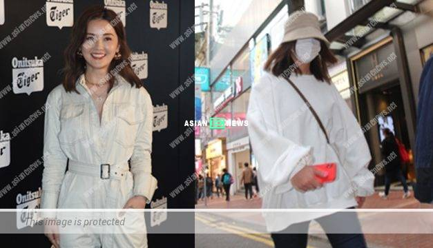 Charlene Choi appeared at Causeway Bay; She ignored the pregnancy rumours