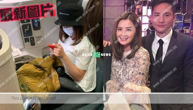 Charlene Choi has flabby arms? She appeared alone at Tokyo Haneda airport
