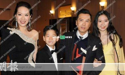 Donnie Yen had no intention to groom his son to become a martial arts actor