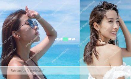 Elaine Yiu showed sexy swimsuit photos again; Netizens requested to see the front view