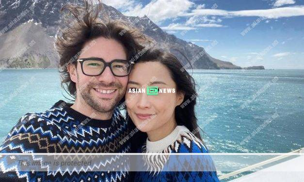 Fala Chen and her husband went for honeymoon to Antarctic