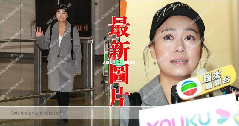 Jacqueline Wong felt emotional and finally returned to Hong Kong