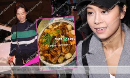 "Jacqueline Wong's parent visited her; They had ""poon choi"" during Dongzhi festival"