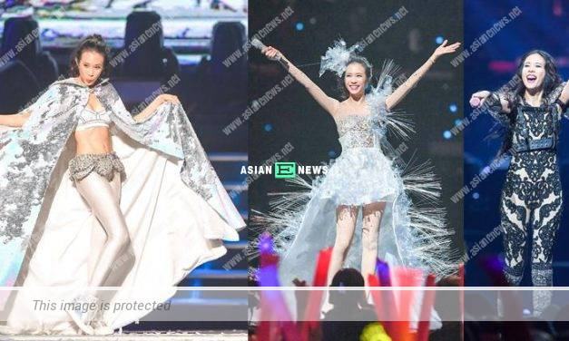 49-year-old Karen Mok held her last world tour concert at Taipei Arena