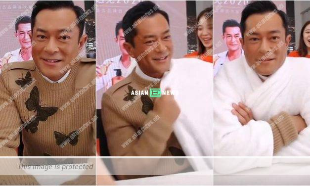 Netizens told Louis Koo to remove his top while promoting health products