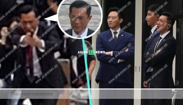 "An ""explosion""? Louis Koo pulled out his gun in Tsim Sha Tsui"