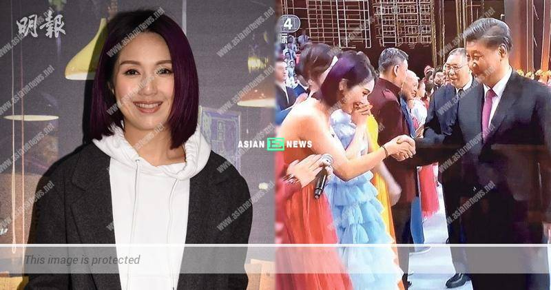Miriam Yeung ignored the criticisms and felt happy as long as there was work
