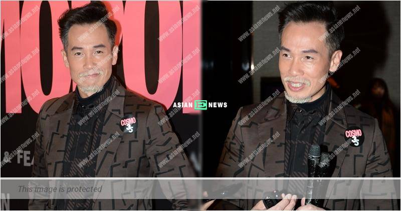 Moses Chan's daughter failed to recognise him without a moustache
