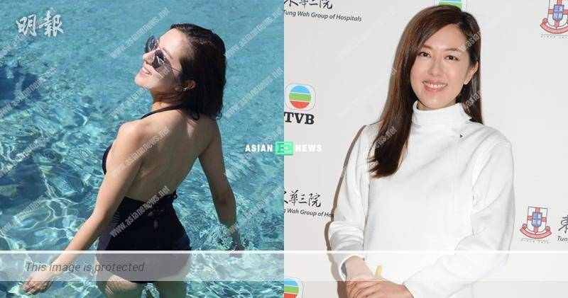 Natalie Tong lacked of courage to show her swimsuit photo in front view