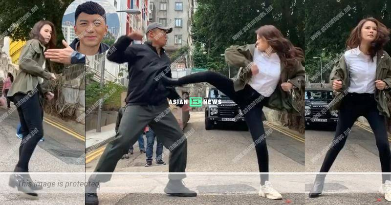 Line Walker 3 drama: Priscilla Wong wore a different pair of shoes to fight