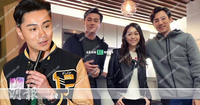 Raymond Wong supported Jacqueline Wong to make an on-screen comeback