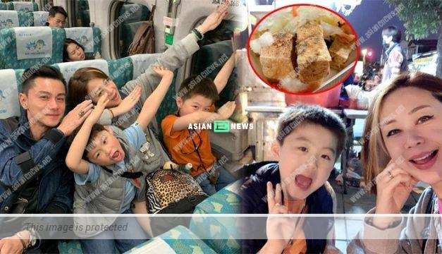 Raymond Wong and his family travelled to Taiwan for a vacation