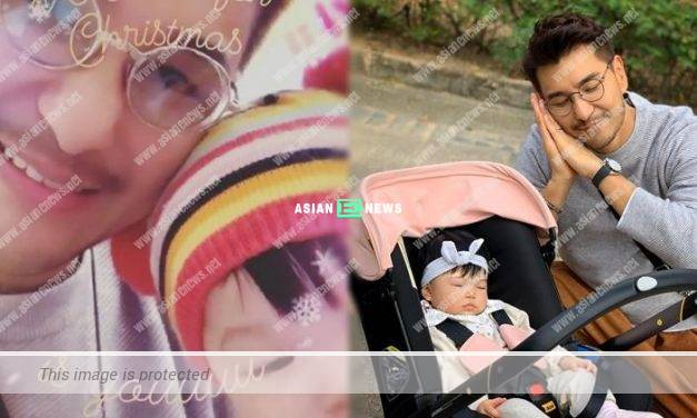 Sweet Ruco Chan specially applied leave to spend time with his daughter