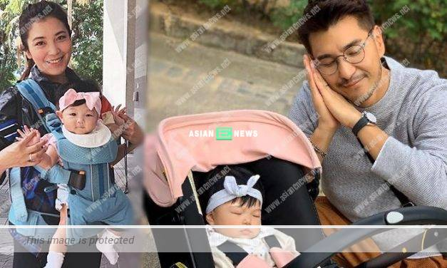 Ruco Chan took his daughter out but she was sleeping