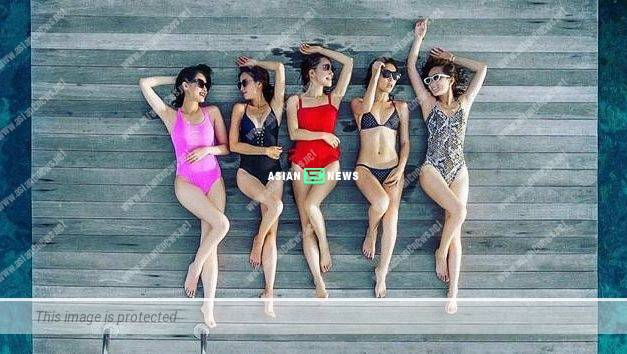 The Sisterhood Travelling Gang: Selena Lee shared their photo in swimsuits