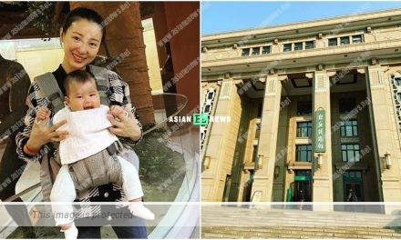 Sire Ma took her daughter, Camellia to a museum in Beijing