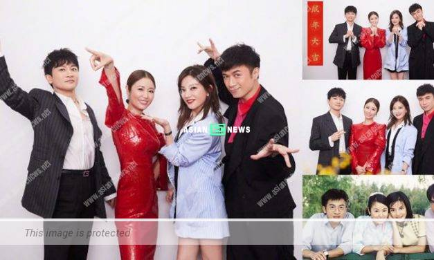 Romance in the Rain drama: Alec Su, Ruby Lin, Vicki Zhao and Leo Ku had a reunion