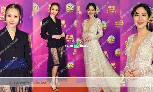 2019 TVB Anniversary Awards: Ali Lee and Natalie Tong were dressed up sexily