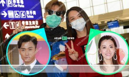 Alice Chan and Joel Chan wore masks; They took the risk to travel to Canada