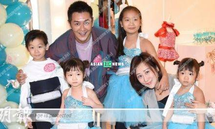 Benny Chan praised his wife Lisa Jiang was good at taking care of their 4 children