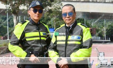 Buddies Do Big Things drama: Bobby Au Yeung played traffic police officer