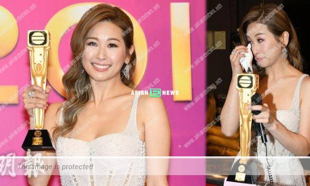 Candice Chiu had a feast with her good friends to celebrate her victory