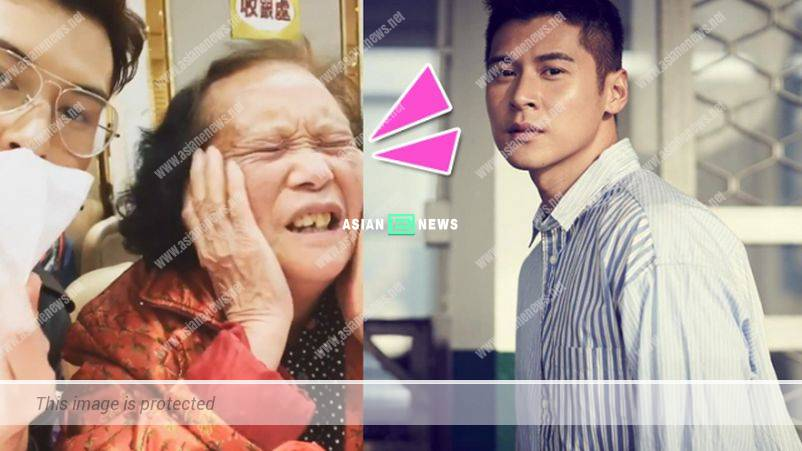Carlos Chan lost his patience when his granny refused to wear a mask