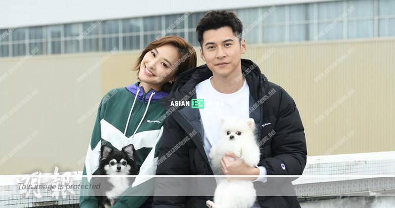 Rumoured couple Jeannie Chan and Carlos Chan filmed an advertisement together