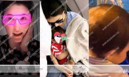 Cecilia Cheung shared photo of her son Marcus sleeping soundly