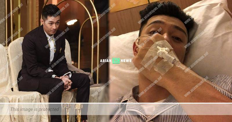 Chau Pak Ho was sent to the hospital immediately after bagging two awards