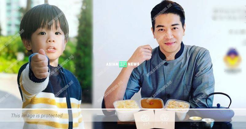 Chris Lai sets up his own brand and sells new year cake as charity