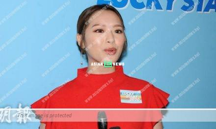 Crystal Fung dismissed about having an underground relationship