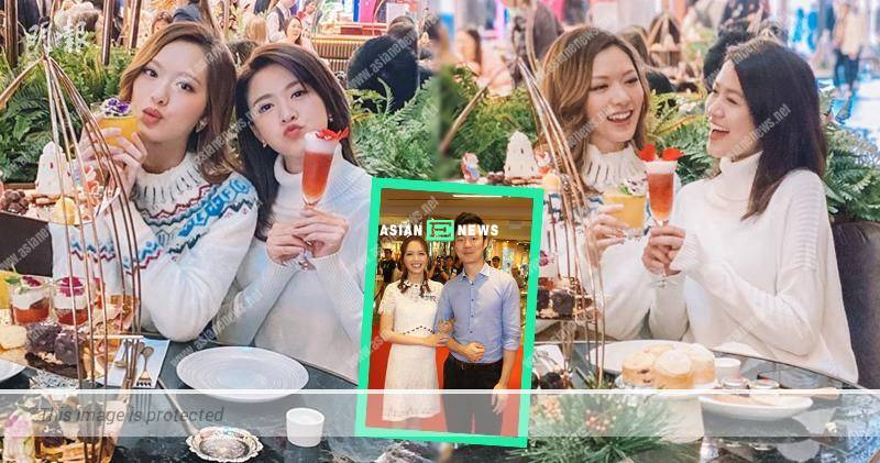 Out of love: Good friend Kong Ka Man tried to make Crystal Fung happy