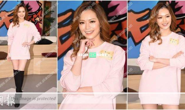 Crystal Fung showed her new look; She was interested to buy a flat in Canada
