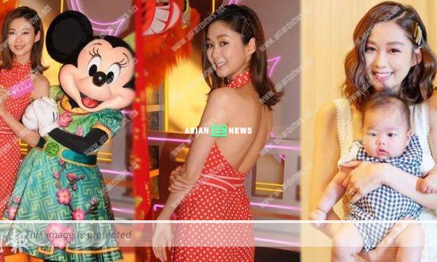 Eliza Sam confessed she will miss her son when filming drama