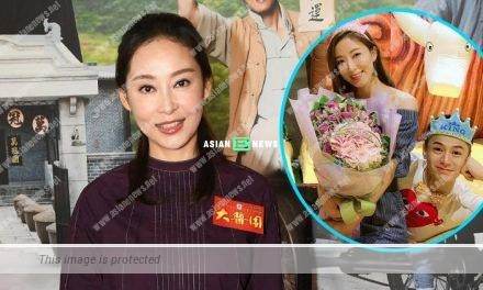 Is Tavia Yeung expecting? Griselda Yeung said 2 soft toys represented something