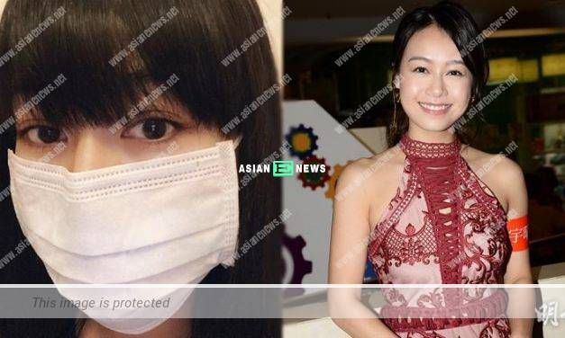 Changing a new hairstyle? Jacqueline Wong urged everyone to take care of themselves