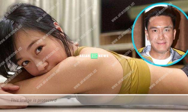 Jacqueline Wong loses weight? She laid down on the floor and revealed her tiny waist