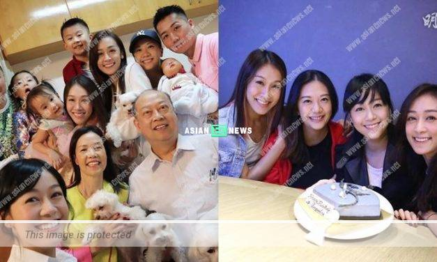 Jacqueline Wong acted as the photographer to take the family photo