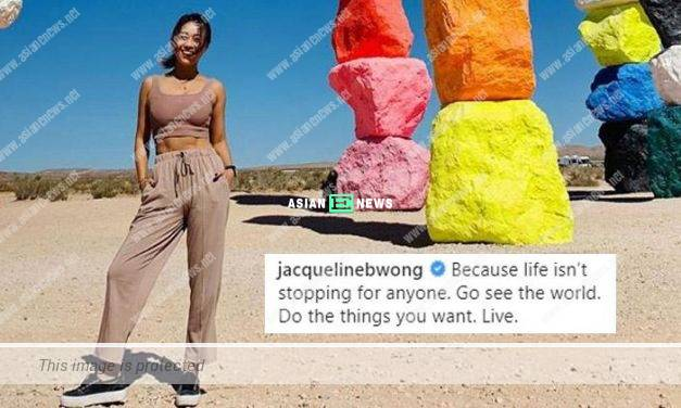 Goodbye to 2019: Jacqueline Wong said Do the things you want