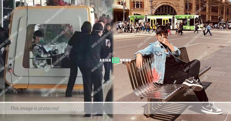 Under quarantine zone at Fuzhou Changle airport? Jay Chou shared his photo to dismiss the rumours