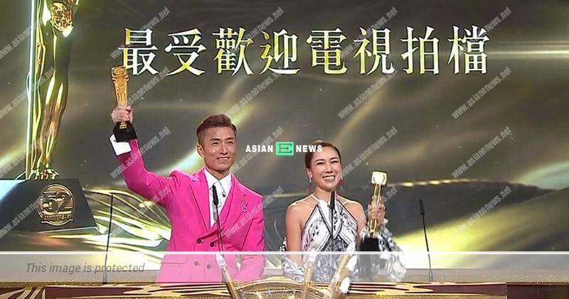 2019 TVB Anniversary Awards: Joel Chan and Selena Lee won Most Popular On-Screen Partnership Award