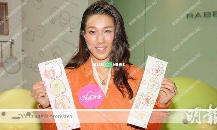 Linda Chung gets support from her husband; Is she making an on-screen comeback?