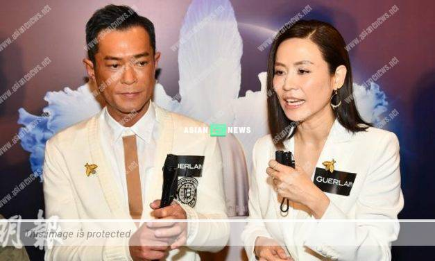 Jessica Hsuan did not feel sick of seeing Louis Koo all the time