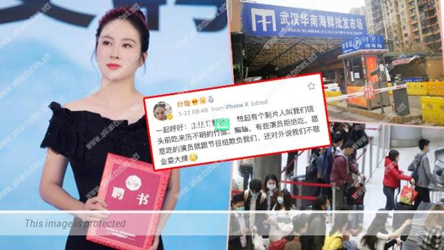 Michelle Ye was described as unprofessional when refusing to eat wild animal meat in China