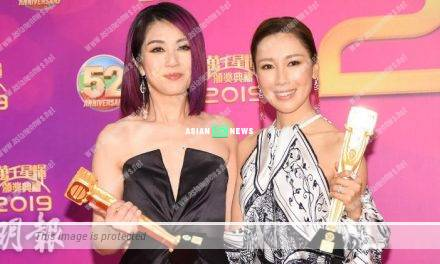 Miriam Yeung felt a sense of achievement when winning an award in TVB for the first time
