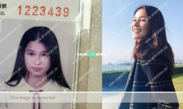 Priscilla Wong found her old student identification card when doing spring cleaning