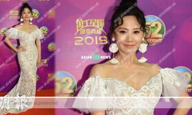 2019 TVB Anniversary Awards: Rebecca Zhu ate sweets for 3 days in order to lose weight